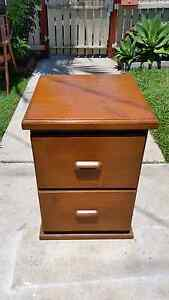One bedside table all wood Zillmere Brisbane North East Preview