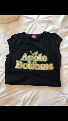 Womens Apple Bottom T Shirt Size Medium