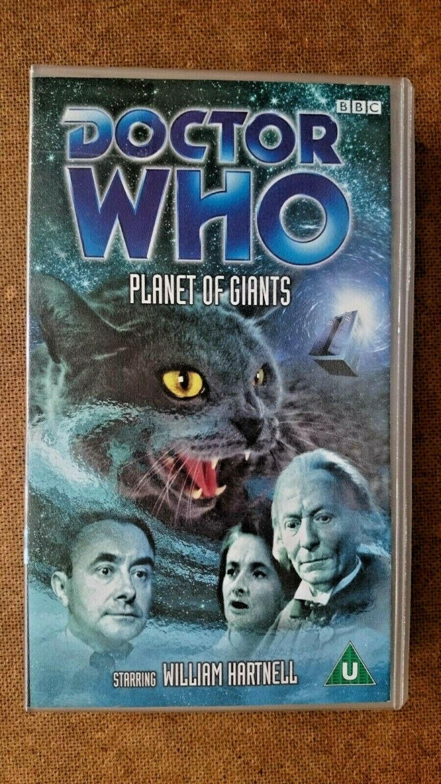 Doctor Who - Planet of Giants (VHS, 2002) - NEW and SEALED - William Hartnell