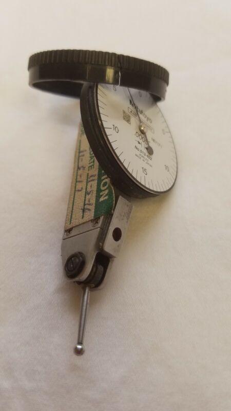 Mitutoyo 513-402 Quick-Set Dial Test Indicator, case broken T6072