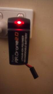 Parrot AR drone 2.0 battery pack with wall charger