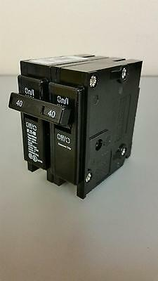 New Cutler Hammer Westinghouse Bryant Br240 40 Amp 2 Pole Circuit Breaker