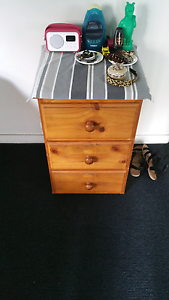 Bedside Drawers x2 St Leonards Willoughby Area Preview