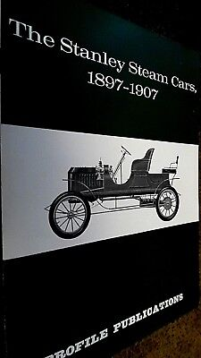 PROFILE PUBLICATIONS CAR #55: THE STANLEY STEAM CARS, 1897-1907 (1967)