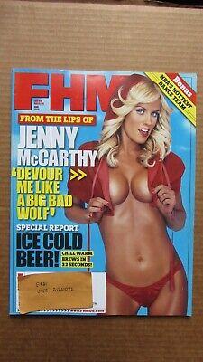 "FHM Magazine Jenny McCarthy June 2006 ""Devour Me"" NBA Miami Heat Dance Team"