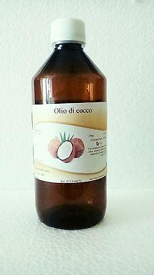OLIO DI COCCO ☼ uso cosmetico ☼ idratante - lenitivo ☼ FARMACIA COLLEVARIO
