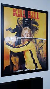 """Framed movie poster: """"Kill Bill"""" Lynbrook Casey Area Preview"""