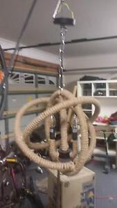 Verve Design 42cm Byron Rope Pendant Harrington Park Camden Area Preview
