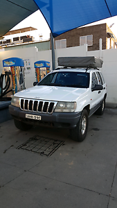 Jeep Grand Cherokee 1999 WJ 4WD + Rooftent Caringbah Sutherland Area Preview