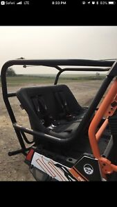 Looking for rear seat and roll cage for rzr