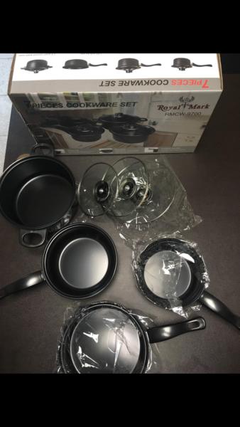 Royal Mark 7 pcs Non-Stick Cookware Set, RMCW9700 1