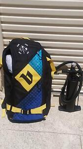 Kitesurfing -  12m Kite, Lines and Bar (With Bag and Pump) Port Kennedy Rockingham Area Preview
