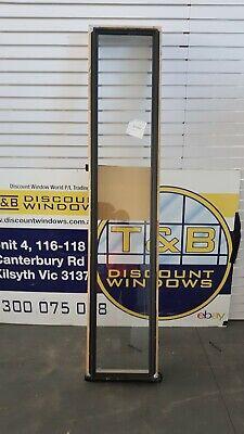 Aluminium Fixed Window 2110H x 430W (Item 5027) Monument
