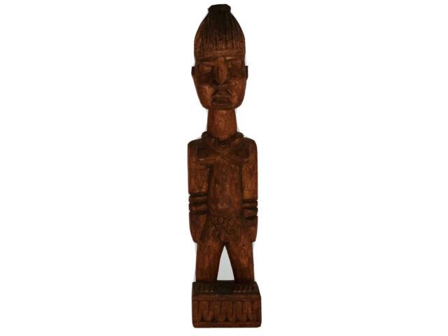 Orisha Oya Wooden Statue