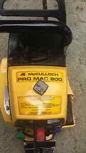 McCulloch Pro Mac 800 chainsaw Leumeah Campbelltown Area Preview