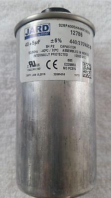 12786 Motor Run Capacitor Jard by MARS, 40 + 5 MFD 440/370 VAC Round