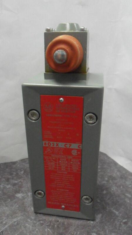 Nice Allen Bradley 802X-C7  Limit Switch Series C