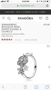 Beautiful Pandora Ring- CHEAP