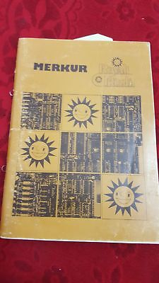 Manual Bedienungsanleitung Merkur Royal Flush