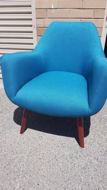 Armchair $185 mid-century style | Armchairs | Gumtree ...