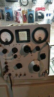 Hp Agilent 608c 10-480mc 10-460mhz Vhf Vacuum Tube Rf Signal Generator W Manual