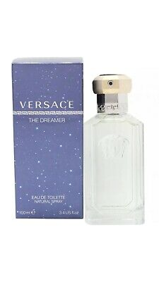 VERSACE THE DREAMER EAU DE TOILETTE 100ML SPRAY MEN'S FOR HIM BRAND NEW SEALED