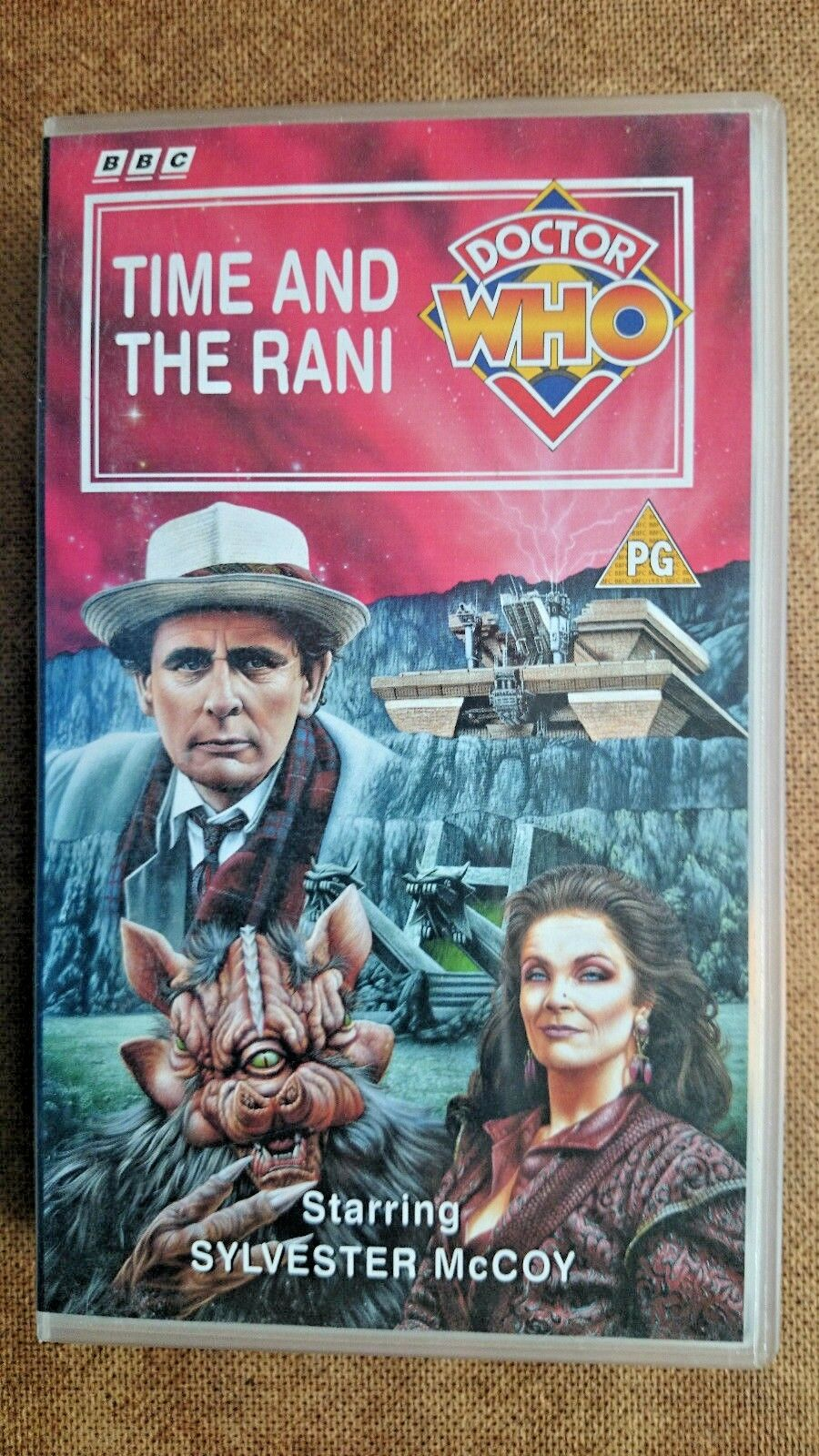 Doctor Who - Time And The Rani (VHS, 1995) - Sylvester McCoy