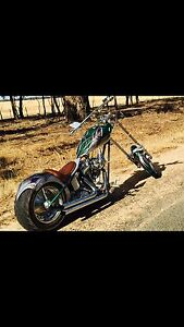 1986 Harley Davidson rigid chopper Brookfield Melton Area Preview