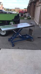 Hydraulic Lift Table 1000lbs capacity