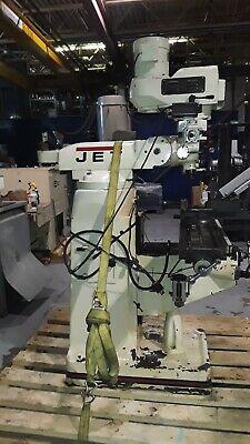 Jet Vertical Milling Machine 9x 48 Mfg. 2012 I4834