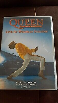 QUEEN LIVE AT WEMBLEY Region  2 DVD New Sealed