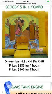 Scooby Doo jumping castle hire Dundas Valley Parramatta Area Preview