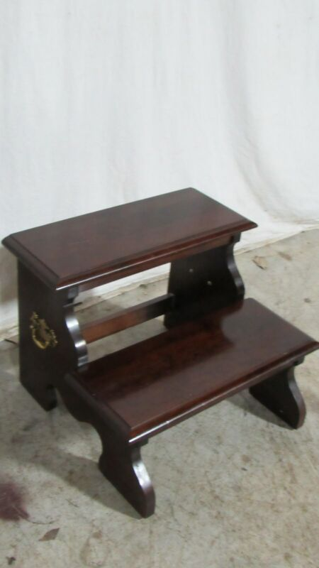 Kincaid Cherry Bed Steps Poster Stool