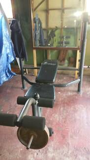 NEED GONE ASAP!! Weight bench, machine, squat rack!!!! Peakhurst Hurstville Area Preview