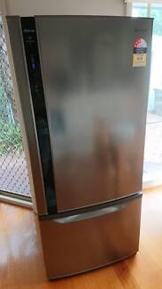 PANASONIC 554L bottom mount fridge 40 months warranty left