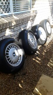 BMW E34 WHEELS EXCELLENT CONDITION - WITH TYRES Wellington Point Redland Area Preview