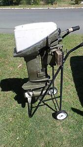 10hp Johnson Outboard Boat Motor Symonston South Canberra Preview
