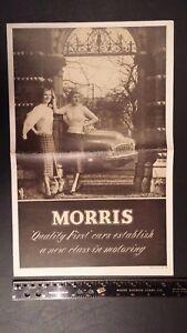 1952-MORRIS-Newsmagazine-B-amp-W-Sales-Brochure-Very-Good-Condition-UK