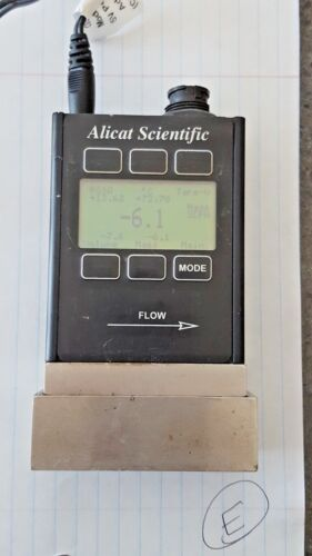"""Alicat Scientific Gas Mass Flow Meter M-100 (Listing """"E"""")"""