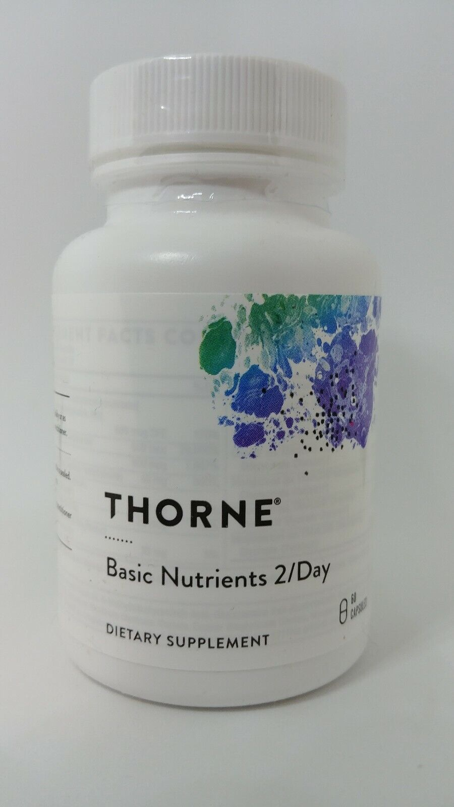 basic nutrients 2 day 60 capsules gluten