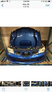 Subaru Impreza WRX 06/07 JDM Sedan Front Conversion