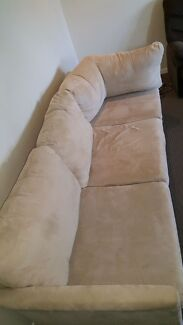 3 Seater Sofa with leg table Lutwyche Brisbane North East Preview