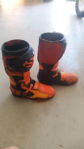 Fox comp 8 dirt bike boots Mango Hill Pine Rivers Area Preview