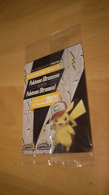 Ash's Pikachu Sammelkarte - Ultrasonne Code Limitierte Promo Karte