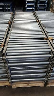 33 Oaw Gravity Roller Conveyor X 100 1.9 Rollers 3 Centers 30 Bf