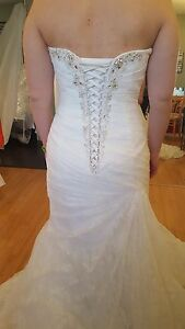 Strapless Sophia Tolli Wedding Dress