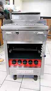 Flat grill Commercial kitchen catering 570 mm with salamader belo Northcote Darebin Area Preview