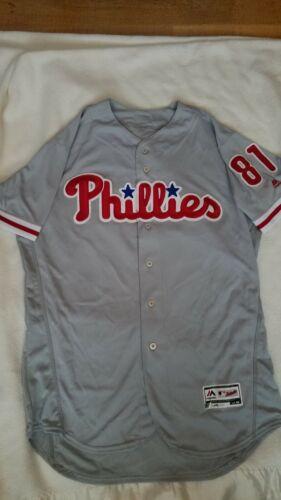2016 Jesus Tiamo Philadelphia Phillies Game Used Worn Jersey Mlb Hologram