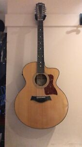 Taylor 12 String Acoustic Guitar With Case