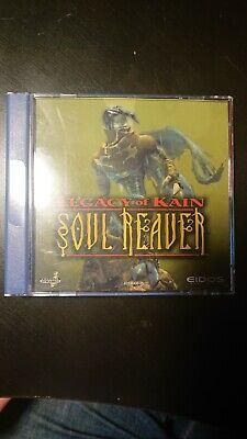 Soul Reaver Legacy Of Kain. Sega Dreamcast. With Manual